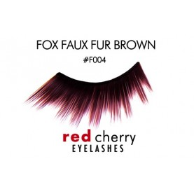 Red Cherry FAUX FUR (Brown))