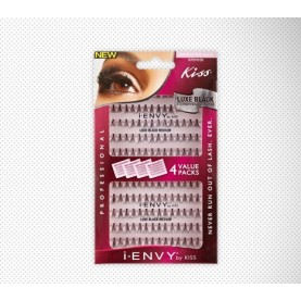 Kiss I-Envy individual Lashes Luxe Black (KPEM02B)