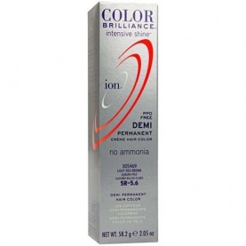 Ion Color Brilliance Intensive Shine Demi Permanent Creme 5R Light Red Brown