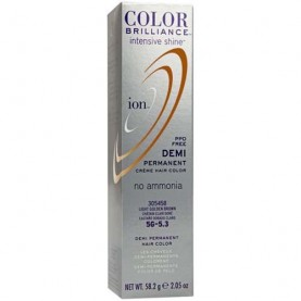 Ion Color Brilliance Intensive Shine Demi Permanent Creme 5G Light Golden Brown