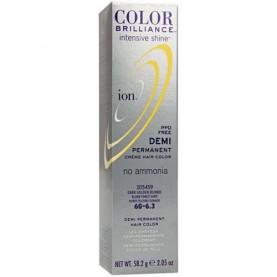 Ion Color Brilliance Intensive Shine Demi Permanent Creme 6G Dark Golden Blonde