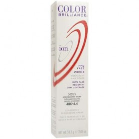 Ion Color Brilliance Permanent Creme 4RC Medium Copper Brown