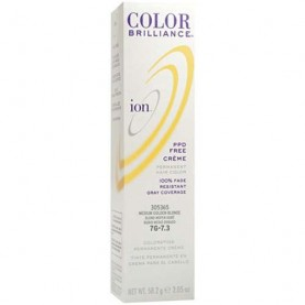 Ion Color Brilliance Permanent Creme 7G Medium Golden Blonde