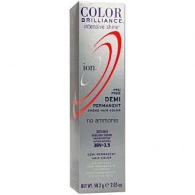 Ion Color Brilliance Intensive Shine Demi Permanent Creme 3RV Burgundy Brown