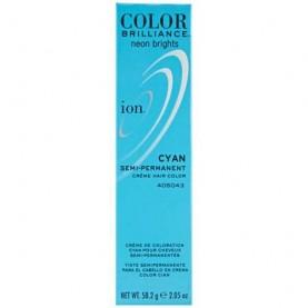 Ion Color Brilliance Semi Permanent Neon Brights Hair Color Cyan