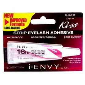 Kiss I-Envy 16hr Strip Eyelash Adhesive Clear (KPEG04)