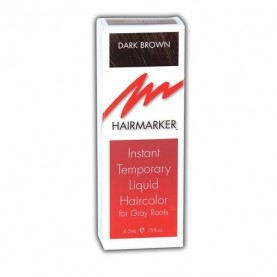 Hairmarker Temporary Hair Color Dark Brown (0.15oz)