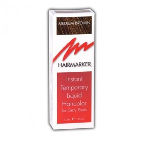 Hairmarker Temporary Hair Color Medium Brown (0.15oz)