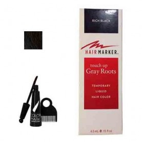 Hairmarker Temporary Hair Color Rich Black (0.15oz)