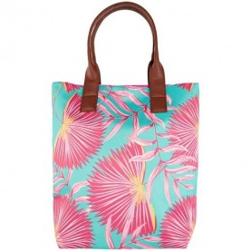 Palm Paradise Tote Turquoise